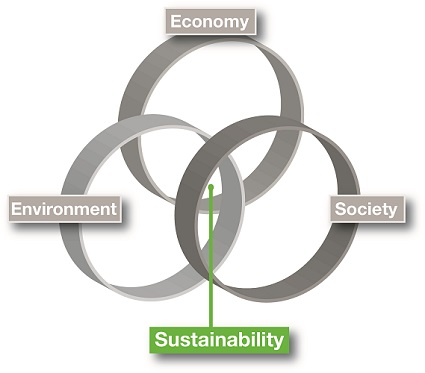 Triple bottom line of sustainability