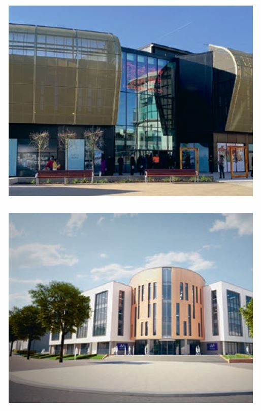 ringing entertainment and a hotel into the