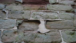 Stones in a wall